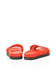 ALEXANDER WANG JAC MESH AND SUEDE SANDAL FLATS Adult 8_n_d