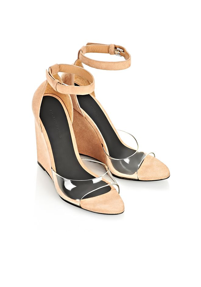Alexander Wang Suede PVC Sandals discount sneakernews ljkr2H9y9