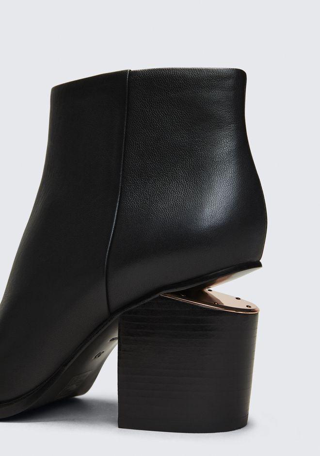 ALEXANDER WANG GABI BOOTIE WITH ROSE GOLD STIEFEL Adult 12_n_r