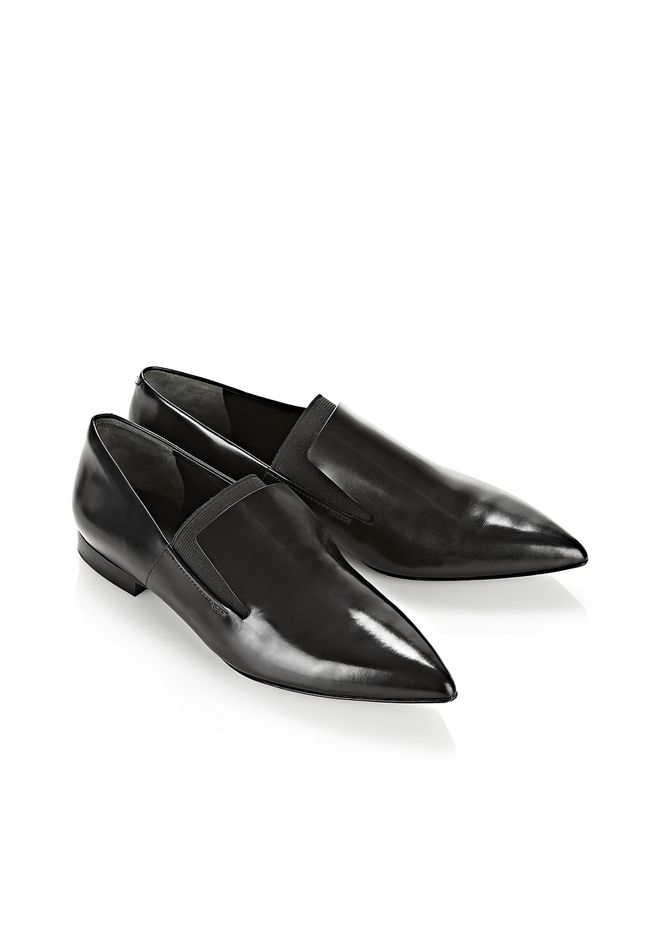 buy cheap prices hot sale online Alexander Wang Point-Toe Leather Oxfords cheap sale authentic free shipping professional 4CxhB