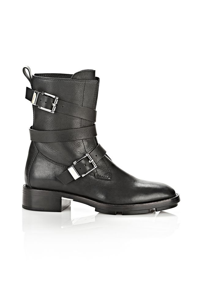 Alexander Wang Leather Biker Boots 44YWcqS