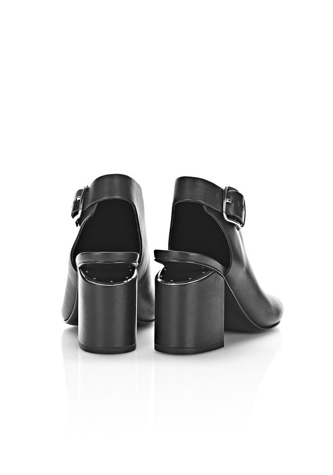 ALEXANDER WANG NADIA SANDAL WITH RHODIUM Heels Adult 12_n_e