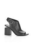 ALEXANDER WANG NADIA SANDAL WITH RHODIUM Heels Adult 8_n_f