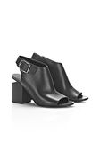 ALEXANDER WANG NADIA SANDAL WITH RHODIUM Heels Adult 8_n_r