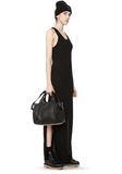 ALEXANDER WANG ROCCO IN SOFT BLACK WITH PALE GOLD Shoulder bag Adult 8_n_r