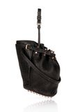 ALEXANDER WANG DIEGO IN BLACK PEBBLE WITH ROSEGOLD Shoulder bag Adult 8_n_e