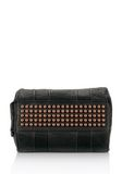 ALEXANDER WANG ROCCO IN BLACK PEBBLE LAMB WITH ROSEGOLD Shoulder bag Adult 8_n_e