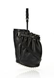 ALEXANDER WANG DIEGO IN BLACK SOFT PEBBLE LEATHER WITH PALE GOLD Shoulder bag Adult 8_n_e