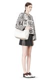ALEXANDER WANG ROCCO IN SOFT PEROXIDE WITH PALE GOLD Shoulder bag Adult 8_n_r