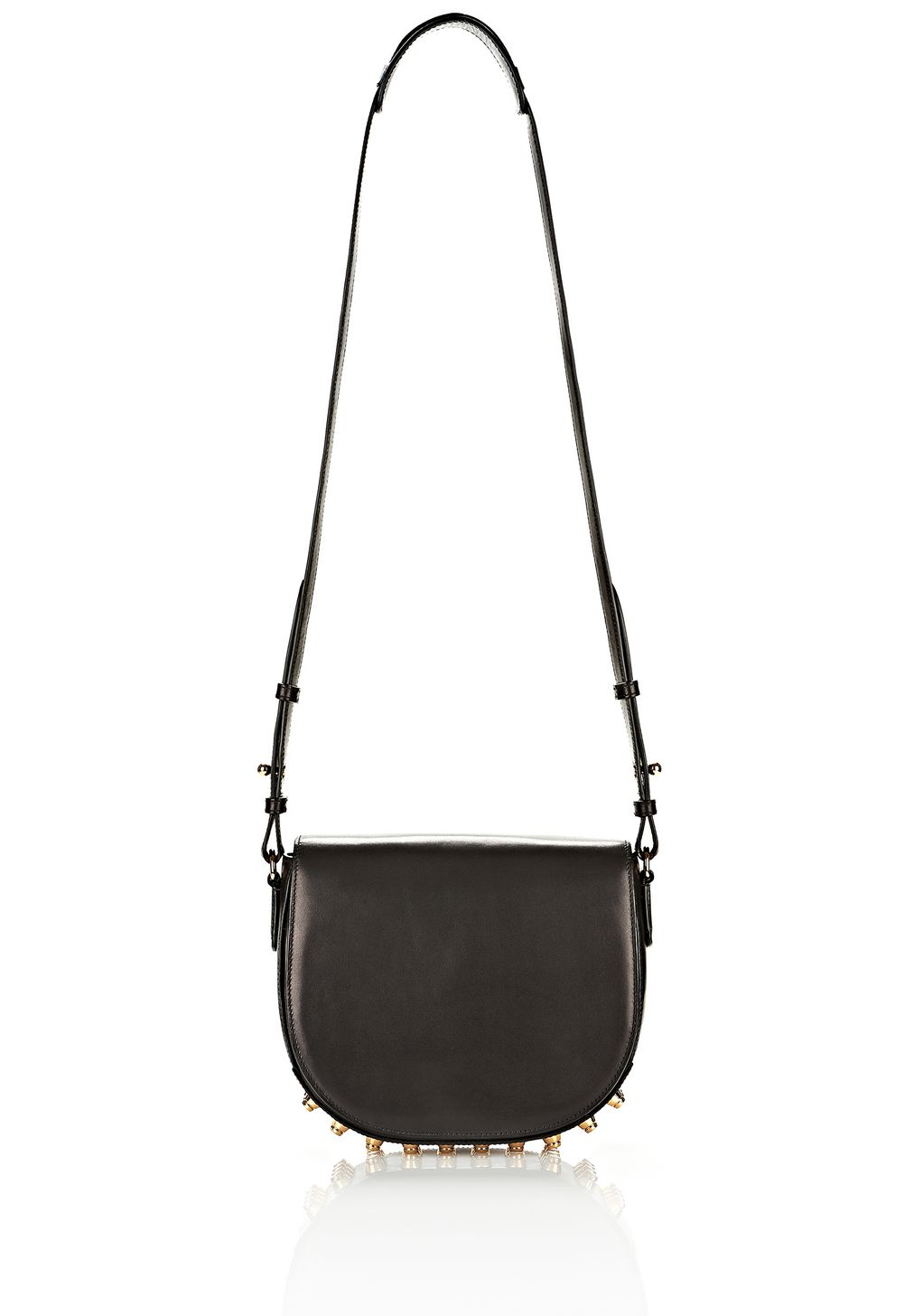 Alexander Lia In Black With Yellow Gold Shoulder Bag Official Site
