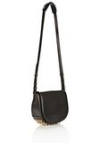 ALEXANDER WANG LIA IN BLACK WITH YELLOW GOLD Shoulder bag Adult 8_n_d