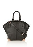 ALEXANDER WANG LARGE EMILE IN PEBBLED BLACK WITH ROSE GOLD  TOTE/DEL Adult 8_n_f