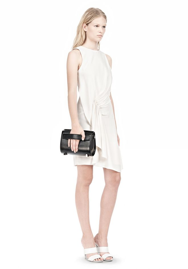 ALEXANDER WANG CHASTITY IN BLACK WITH RHODIUM Shoulder bag Adult 12_n_a