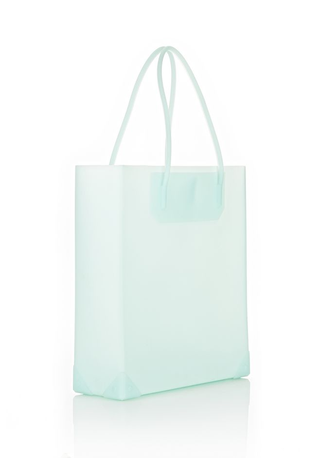 ALEXANDER WANG PRISMA MOLDED TOTE IN PEPPERMINT TOTE/DEL Adult 12_n_e