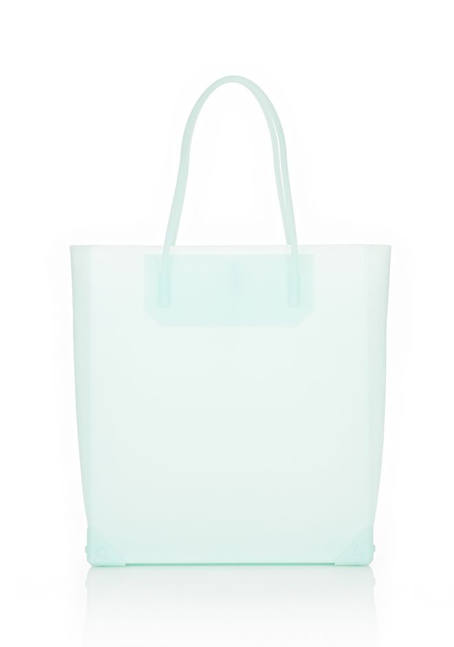 ALEXANDER WANG PRISMA MOLDED TOTE IN PEPPERMINT TOTE/DEL Adult 12_n_f