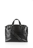 ALEXANDER WANG BRIEFCASE IN WAXY BLACK WITH MATTE BLACK Travel Adult 8_n_f