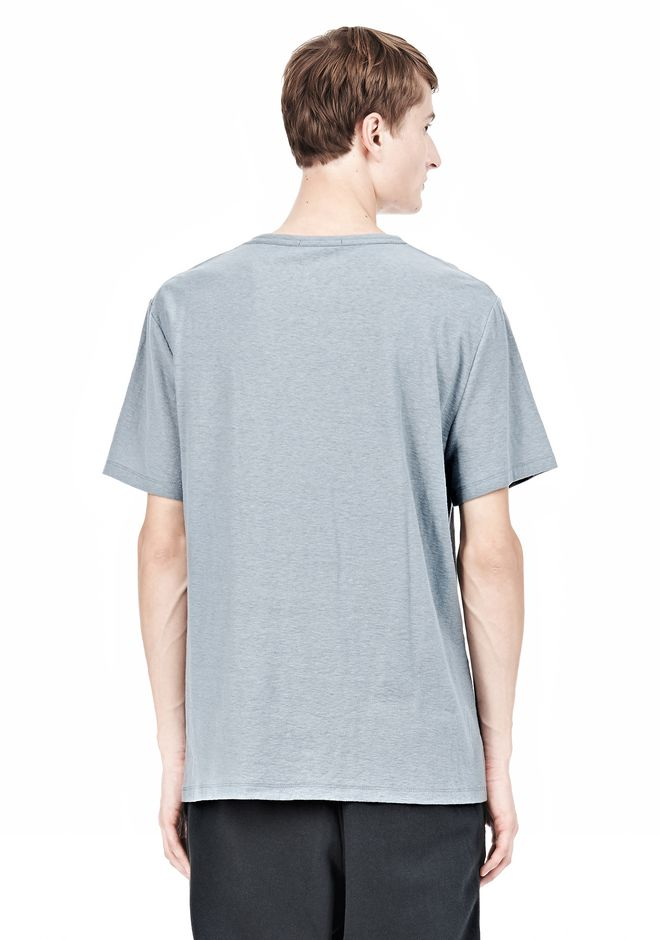 T by ALEXANDER WANG SLUB COTTON JERSEY TEE WITH CHEST POCKET TEE Adult 12_n_d