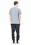 T by ALEXANDER WANG SLUB COTTON JERSEY TEE WITH CHEST POCKET TEE Adult 8_n_r