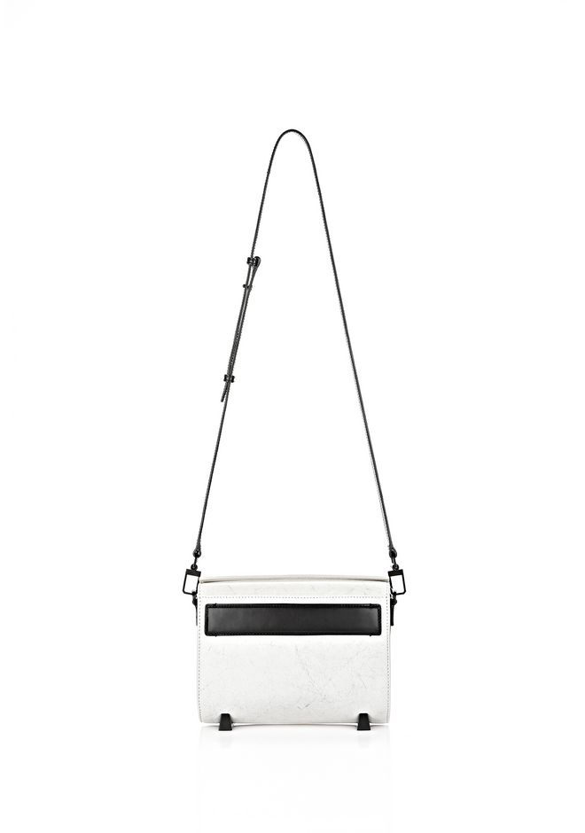 ALEXANDER WANG EXCLUSIVE CHASTITY IN CHALK WITH MATTE BLACK  Shoulder bag Adult 12_n_f