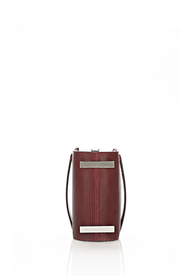 ALEXANDER WANG CHASTITY IN CORDOVAN WITH RHODIUM Shoulder bag Adult 12_n_a