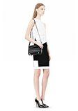 ALEXANDER WANG CHASTITY IN BLACK WITH MATTE BLACK Shoulder bag Adult 8_n_r