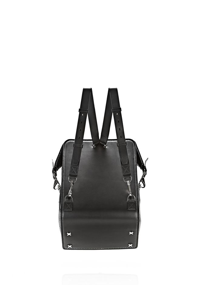 ALEXANDER WANG OPANCA BACKPACK IN BLACK WITH RHODIUM BACKPACK Adult 12_n_d