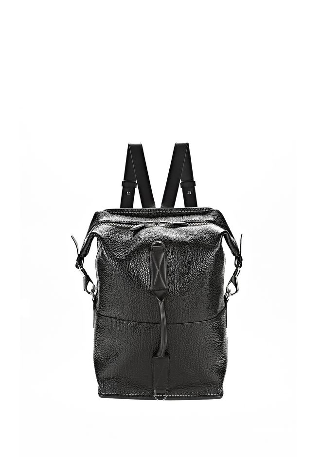 ALEXANDER WANG OPANCA BACKPACK IN BLACK WITH RHODIUM BACKPACK Adult 12_n_f