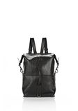 ALEXANDER WANG OPANCA BACKPACK IN BLACK WITH RHODIUM BACKPACK Adult 8_n_e