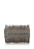 ALEXANDER WANG INSIDE-OUT ROCCO IN GUNPOWDER WITH RHODIUM Shoulder bag Adult 8_n_d
