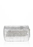 ALEXANDER WANG ROCCO IN PEBBLED RHODIUM METALLIC WITH RHODIUM Shoulder bag Adult 8_n_d