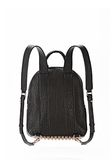 ALEXANDER WANG DUMBO BACKPACK IN BLACK WITH ROSE GOLD BACKPACK Adult 8_n_d