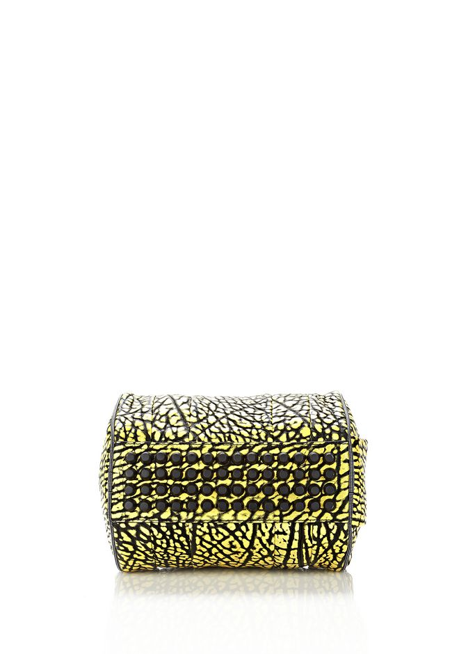 ALEXANDER WANG ROCKIE SLING IN CONTRAST TIP CITRON Shoulder bag Adult 12_n_d