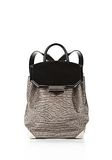 ALEXANDER WANG PRISMA SKELETAL BACKPACK IN OYSTER BACKPACK Adult 8_n_f