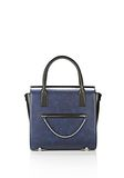 ALEXANDER WANG LARGE CHASTITY SATCHEL IN DISTRESSED NILE TOTE/DEL Adult 8_n_f