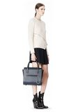 ALEXANDER WANG LARGE CHASTITY SATCHEL IN DISTRESSED NILE TOTE/DEL Adult 8_n_r