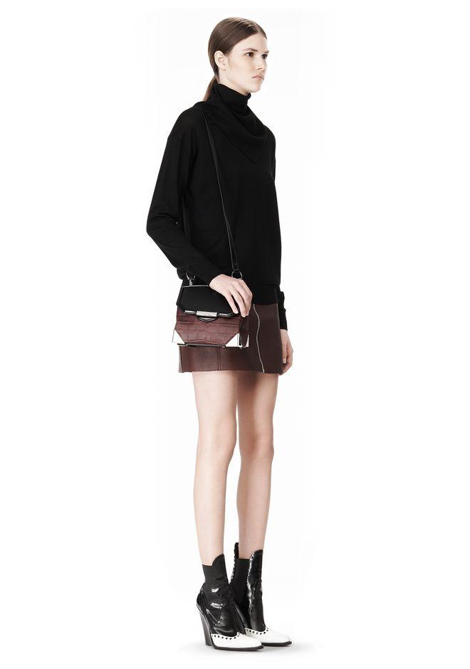 ALEXANDER WANG MARION SLING IN EMBOSSED BEET Shoulder bag Adult 12_n_r