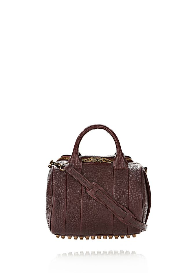 ALEXANDER WANG ROCKIE SLING IN BEET WITH ANTIQUE BRASS Shoulder bag Adult 12_n_f