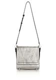 ALEXANDER WANG CHASTITY MESSENGER IN SILVER WITH RHODIUM Shoulder bag Adult 8_n_f