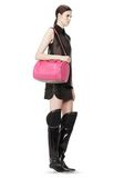 ALEXANDER WANG ROCCO IN FLAMINGO WITH PALE GOLD Shoulder bag Adult 8_n_r