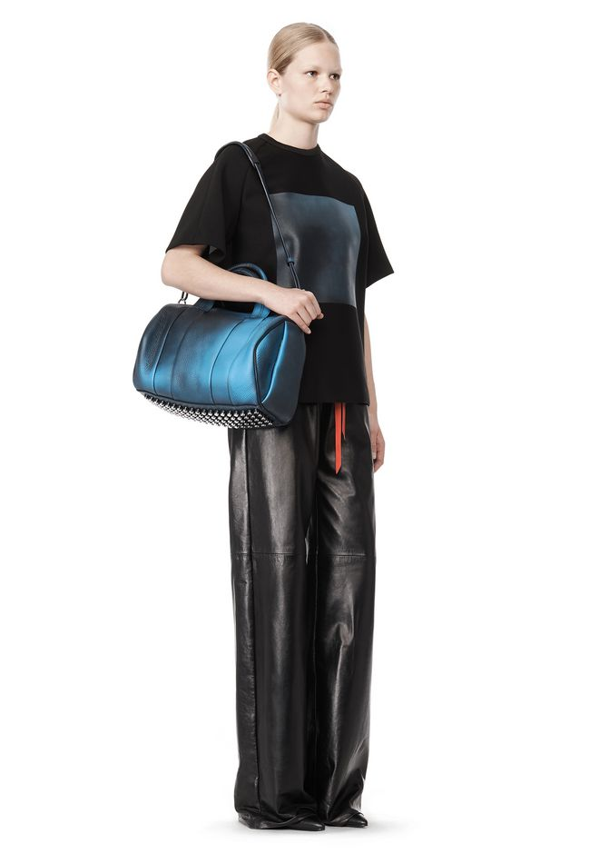 ALEXANDER WANG ROCCO IN HEAT SENSITIVE GALAXY WITH RHODIUM Shoulder bag Adult 12_n_a