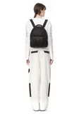 ALEXANDER WANG DUMBO BACKPACK IN PEBBLED BLACK WITH ANTIQUE BRASS BACKPACK Adult 8_n_r
