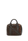 ALEXANDER WANG ROCKIE SLING IN PRINTED LEOPARD WITH YELLOW GOLD Shoulder bag Adult 8_n_f