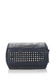 ALEXANDER WANG ROCCO IN PEBBLED NEPTUNE WITH RHODIUM Shoulder bag Adult 8_n_e