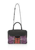 ALEXANDER WANG LARGE PRISMA SKELETAL MARION SLING IN TIE DYE WITH MATTE BLACK Shoulder bag Adult 8_n_a