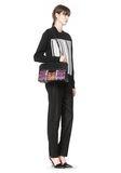 ALEXANDER WANG LARGE PRISMA SKELETAL MARION SLING IN TIE DYE WITH MATTE BLACK Shoulder bag Adult 8_n_r