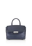 ALEXANDER WANG LARGE PRISMA SKELETAL MARION IN NEPTUNE WITH RHODIUM Shoulder bag Adult 8_n_f