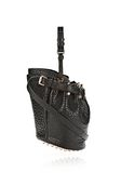 ALEXANDER WANG SMALL DIEGO IN PEBBLED BLACK WITH ROSE GOLD Shoulder bag Adult 8_n_e