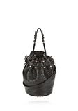 ALEXANDER WANG SMALL DIEGO IN PEBBLED BLACK WITH ROSE GOLD Shoulder bag Adult 8_n_f