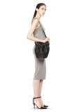ALEXANDER WANG SMALL DIEGO IN PEBBLED BLACK WITH ROSE GOLD Shoulder bag Adult 8_n_r