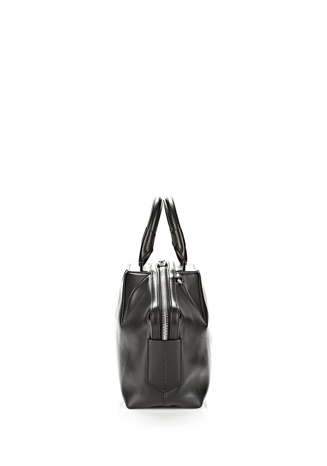 ALEXANDER WANG EMILE DOCTOR SATCHEL IN BLACK WITH RHODIUM TOTE/DEL Adult 12_n_a